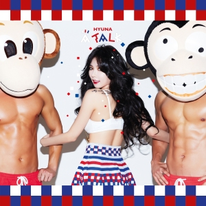 "Album art for Hyuna (4Minute)'s album ""A Talk"""