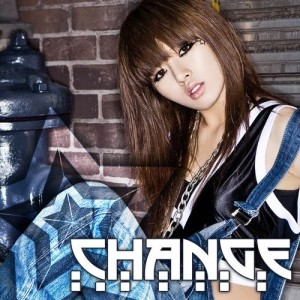 "Album art for Hyuna's (4Minute) album ""Change"""