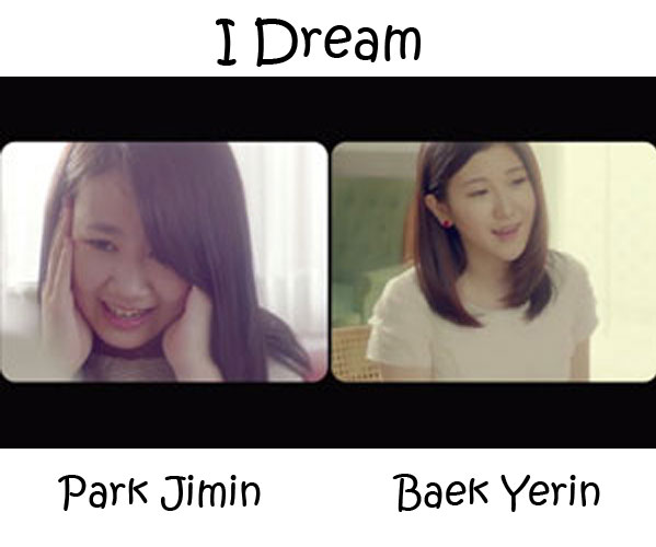 "The members of 15& in the ""I Dream"" MV"