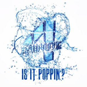 "Album art for 4Minute's album ""Is It Poppin'?"""