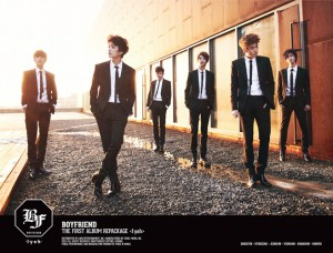 "Album art for Boyfriend's album ""IYAH"""
