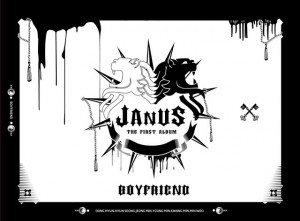 "The album art for Boyfriend's album ""Janus"""