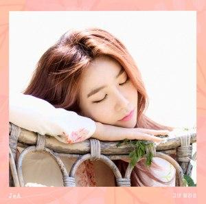 "Album art for JeA's album ""You're Different"""