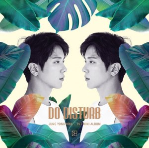 "Album art for Jung Yong Hwa's album ""Do Disturb"""