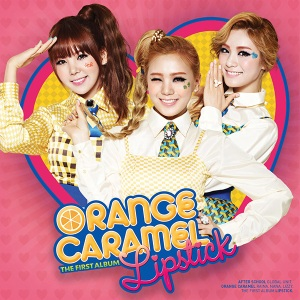 "Album art for Orange Caramel's album ""Lipstick"""
