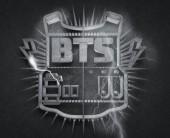 BTS' logo.