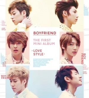"Album art for Boyfriend's album ""Love Style"""