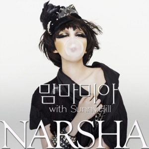 "The album art for Narsha's album ""Mamma Mia"""