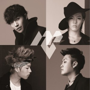 "Album art for M.I.B's album ""Let's Talk About You"""