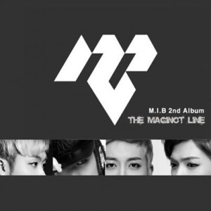 "Album art for M.I.B's album ""Maginot Line"""