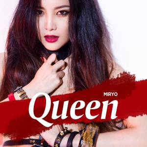 "Album art for Miryo (Brown Eyed Girls)'s album ""Queen"""