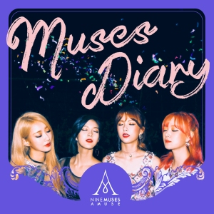 "Album art for Nine Muses A's album ""Muses Diary"""