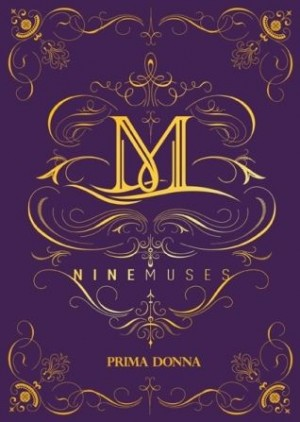 "The album art for 9Muses's ablum ""Prima Donna"""