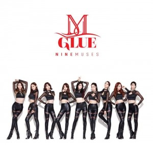 "The album art for 9Muses's album ""Glue"""