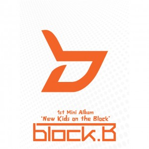 "The album art for Block B's album ""New Kids On The Block"""
