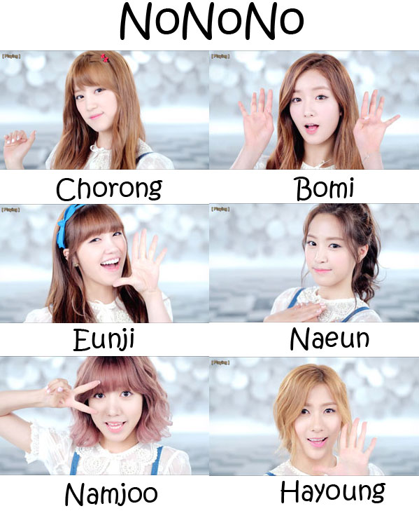 "The members of APink in the ""NoNoNo"" MV"