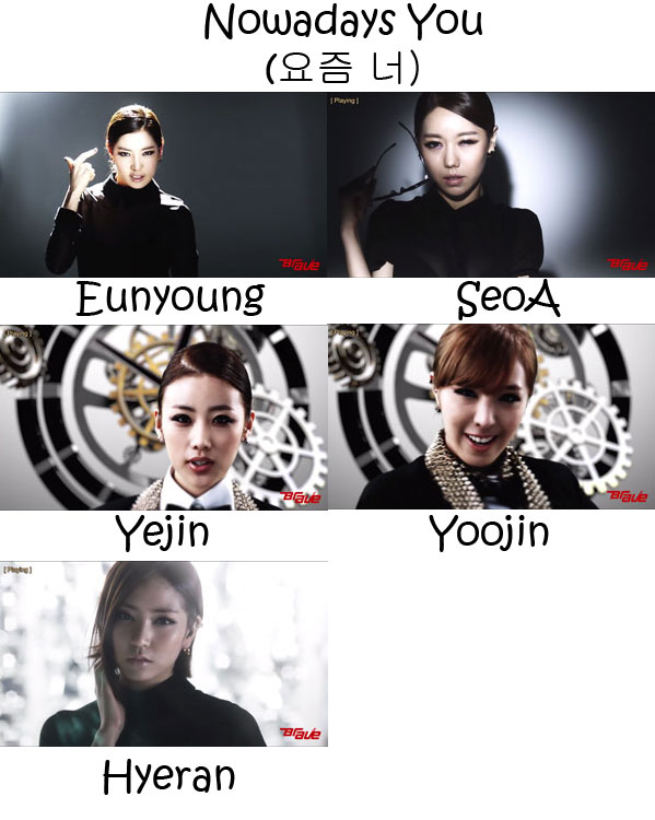 "The members of Brave Girls in the ""Nowadays You"" MV"