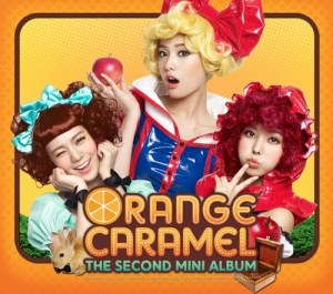 "Album art for Orange Caramel's ""2nd Mini Album"""