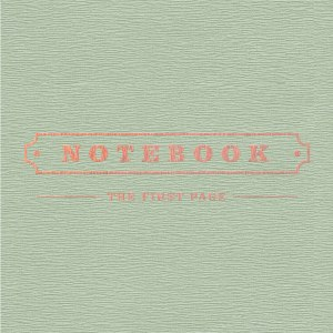 "Album art for Park Kyung's album ""Notebook"""