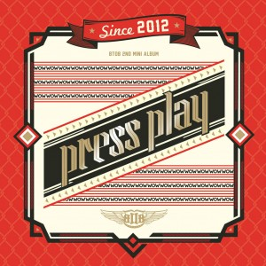 "Album art for BTOB's album ""Press Play"""