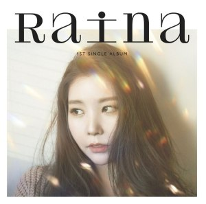 "Album art for Raina's album ""Loop"""
