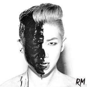 "Album art for Rap Monster's album ""RM"""