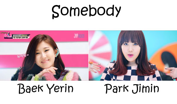 "The members of 15& in the ""Somebody"" MV"