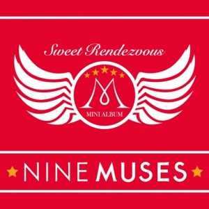 "Album art for 9Muses album ""Sweet Rendezvous"""