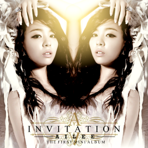 "Album art for Ailee's album ""Invitation"""