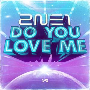 """Album art for 2NE1's album """"Do You Love Me"""""""