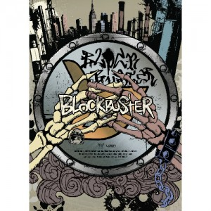 "Album art for Block B's album ""Blockbuster"""