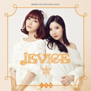 "The album art for Jevice's album ""The First Mini Album L.A.D."""