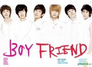 """Album art for Boyfriends album """"We are Boyfriend"""""""
