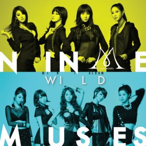 "The album art for 9Muses album ""Wild"""