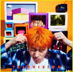"Album art for Zico's album ""Television"""