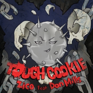 "Album art for Zico's album ""Tough Cookie"""