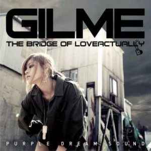 "Album art for Gilme's album ""The bridge of love actually"""