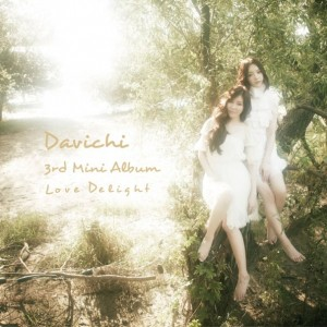 "Album art for Davichi's album ""Love Delight"""