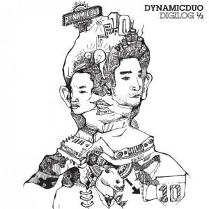 "Album art for Dynamic Duo's album ""Dynamic Duo Digilog 1/2"""