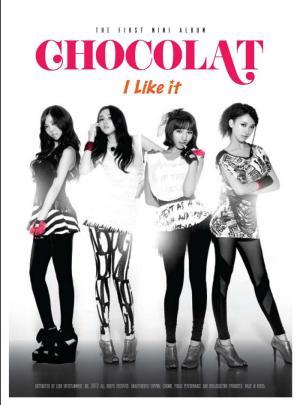 "Album art for ChoColat's albu ""I Like It"""