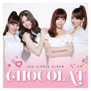 Album art for ChoColat's 2nd digital single album