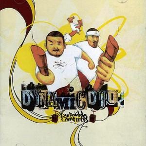 "Album art for Dynamic Duo's album ""Double Dynamite"""