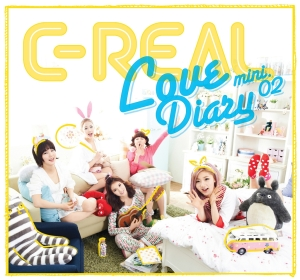"Album art for C-Real's album ""Love Diary"""