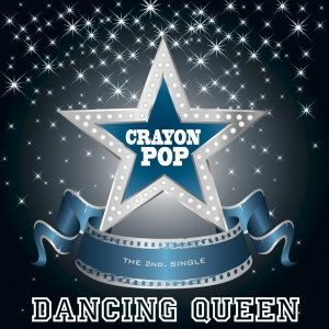 "Album art for Crayon Pop's album ""Dancing Qeen"""