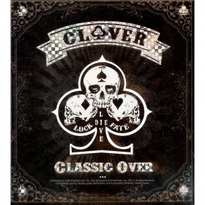 "Album art for Clover's album ""Classic Over"""
