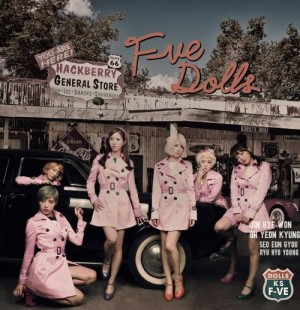 "Album art for F-VE DOLLS album ""Since 1971"""