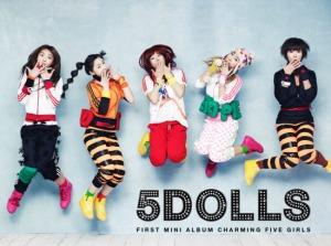"""Album art for F-VE DOLLS album """"Charming five Girls"""""""