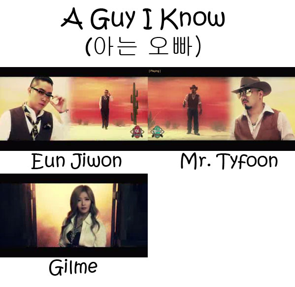 """The members of Clover in the """"A Guy I Know"""" MV"""