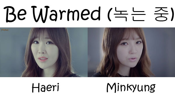 "The members of Davichi in the ""Be Warmed"" MV"
