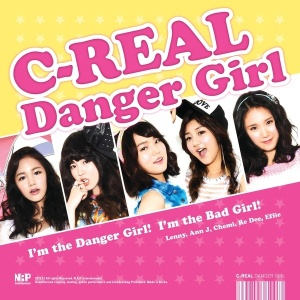 "The album art for C-Real's album ""Danger Girl"""